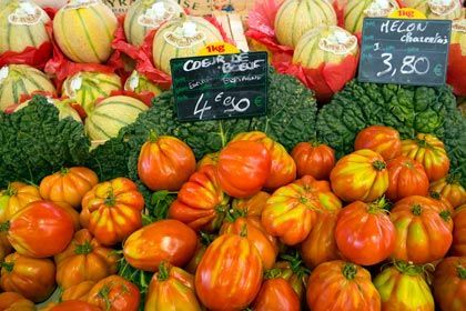 Heute gibt's mal was schön Gemüsiges