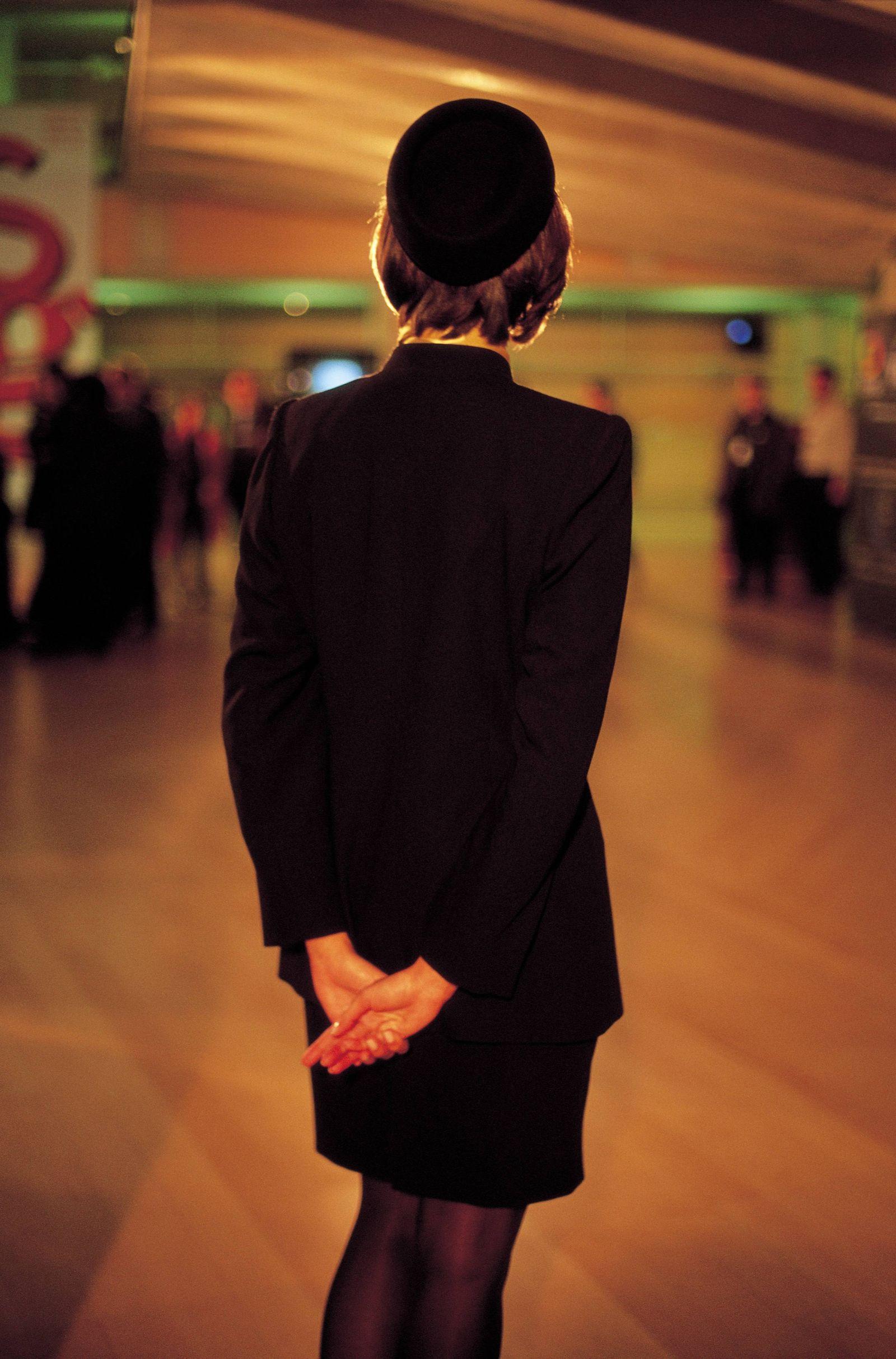KaSP Stewardess anonym