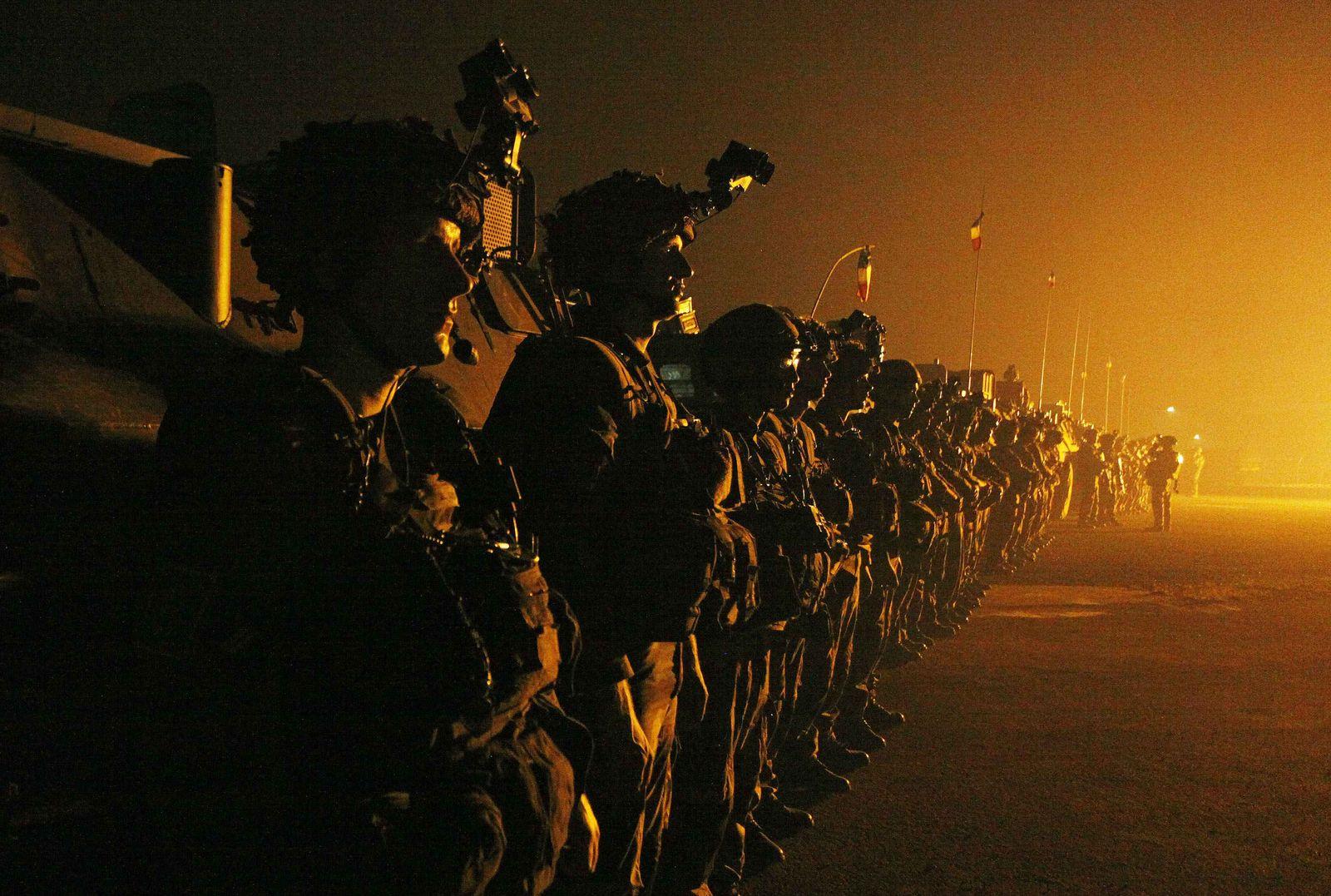 Zentralafrikanische Republik Französiche Soldaten