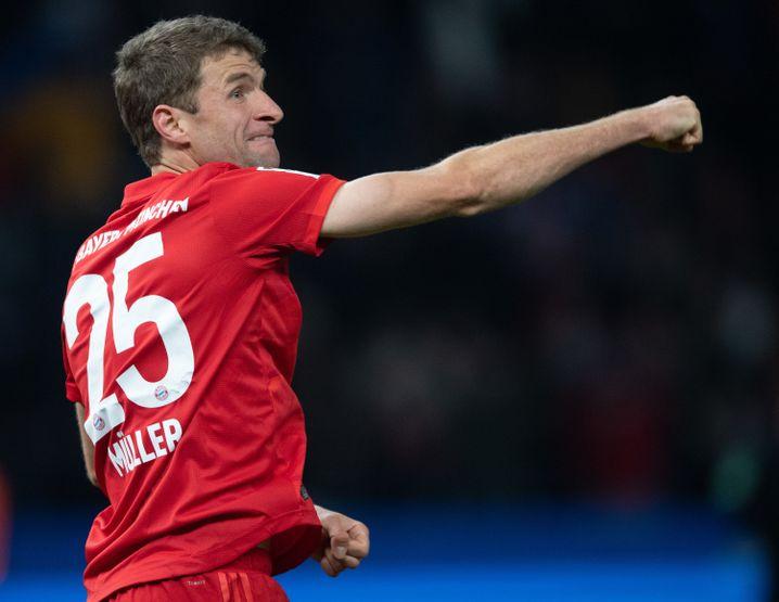 Thomas Müller avancierte vom erfolglosen Flankengeber zum Torschützen und Matchwinner