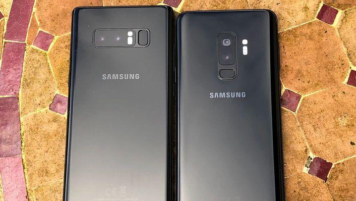Tolle Kamera, viel Ausdauer, stolzer Preis: Samsung Galaxy S9 im Test