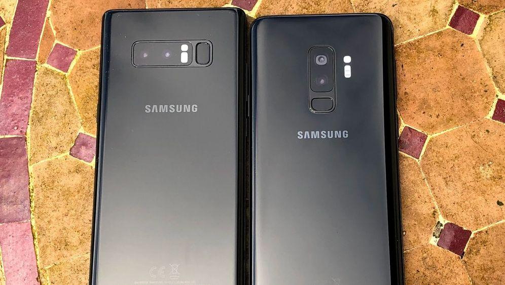samsung galaxy s9 im test tolle kamera gute ausdauer stolzer preis der spiegel. Black Bedroom Furniture Sets. Home Design Ideas