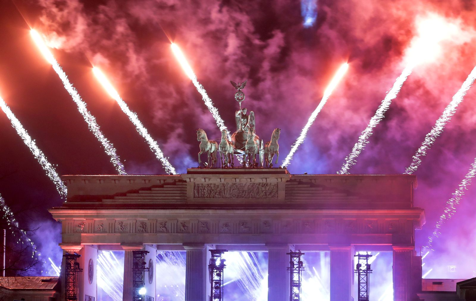 Virus Outbreak Germany New Year