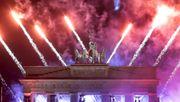 So feierte Berlin ins neue Jahr