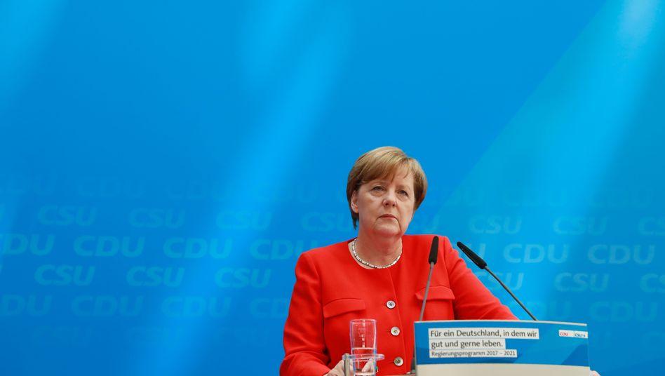 Steuerpläne der Union: Merkels andere Obergrenze
