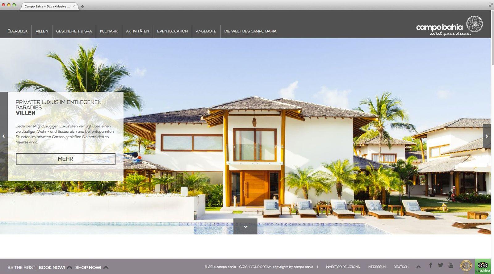 NUR ALS ZITAT Screenshot Campo Bahia