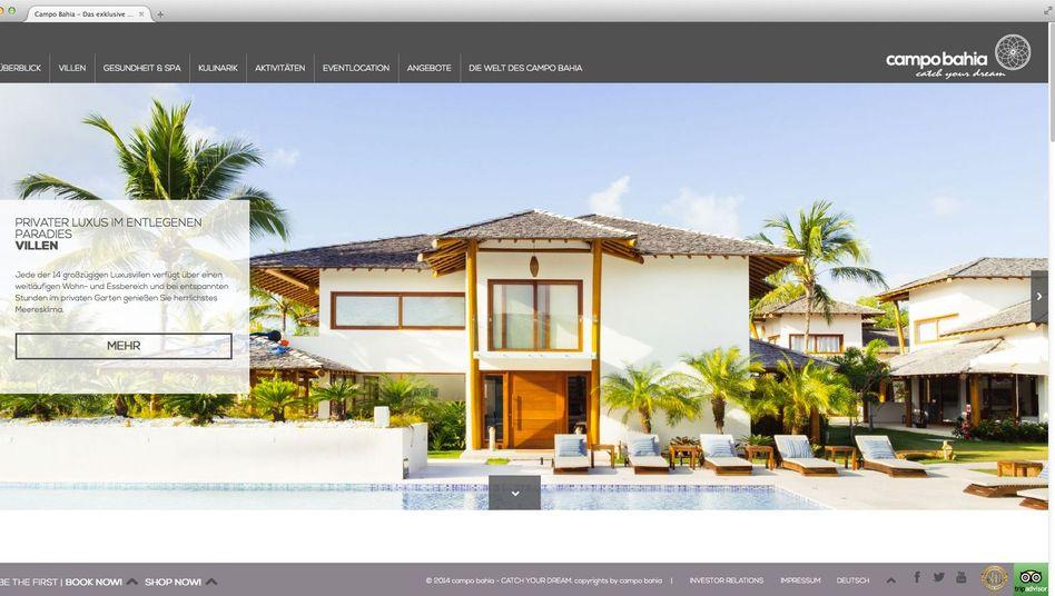 Ex-DFB-Quartier Campo Bahia: Luxusresort für wenige Gäste, die viel Geld ausgeben