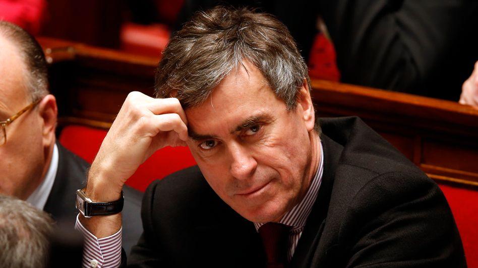 """Budgetminister Cahuzac: """"Technisch sind wir nicht in einer Rezession"""""""