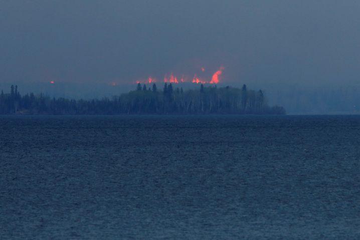 Waldbrände bei Fort McMurray