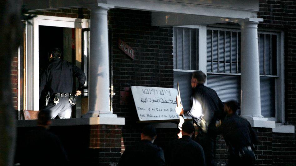 Gestürmtes Haus in Detroit: Tödliche Razzia gegen Islamisten