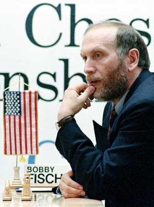 Bobby Fischer während des verbotenen Spiels in Jugoslawien: Seit zwölf Jahren auf der Flucht