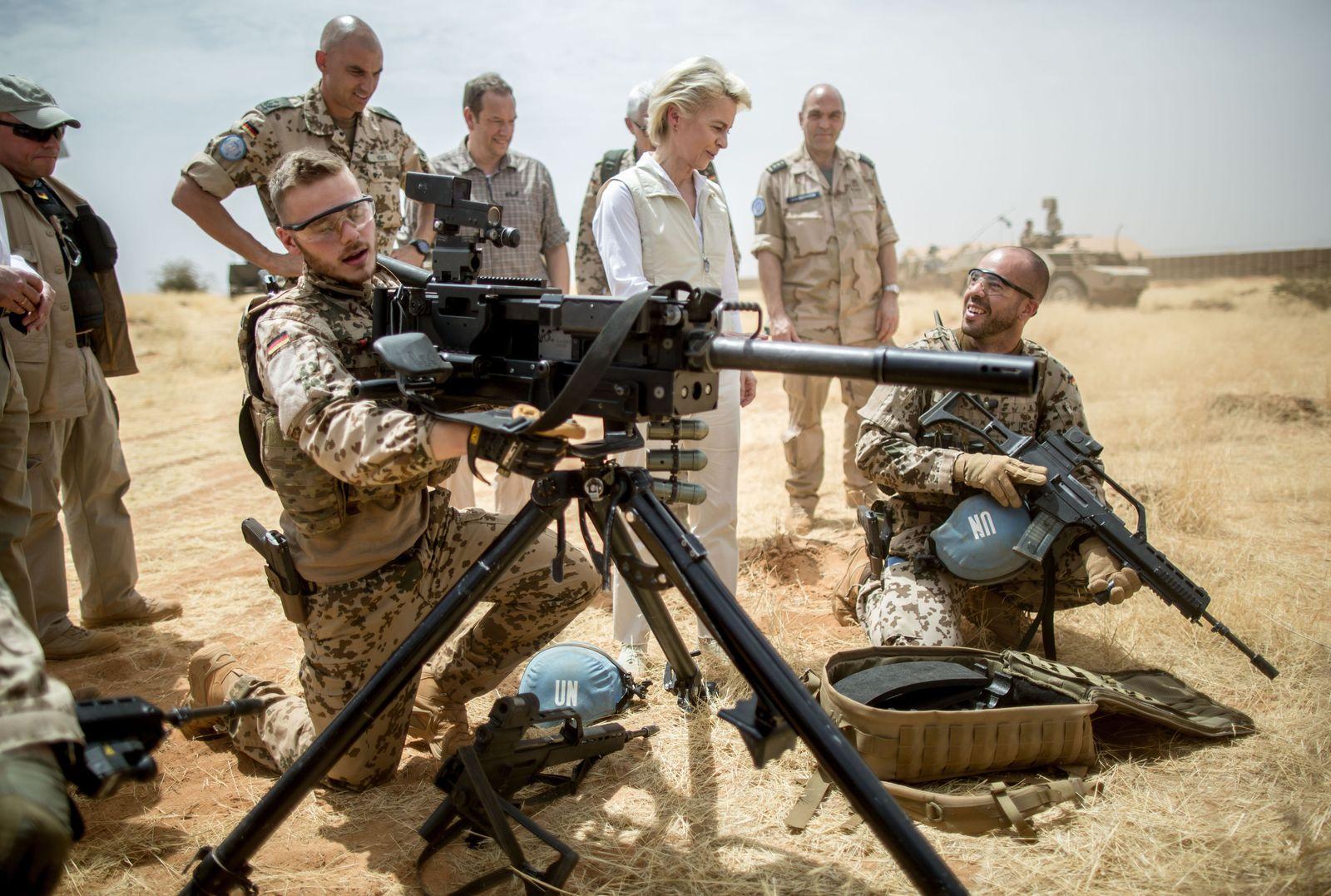 Von der Leyen /Mali