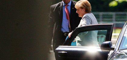 Kanzlerin Merkel beim Opel-Gipfel: Schwierige Verhandlungen