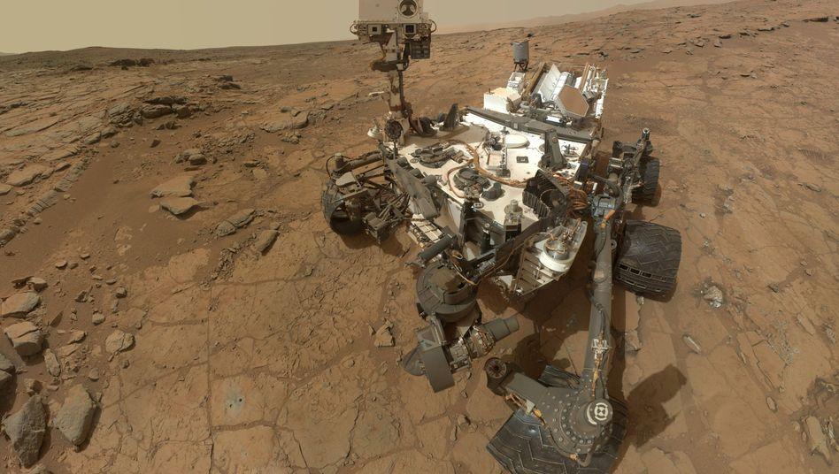 """""""Curiosity"""": Marsrover misst überraschende Methan-Schwankungen"""