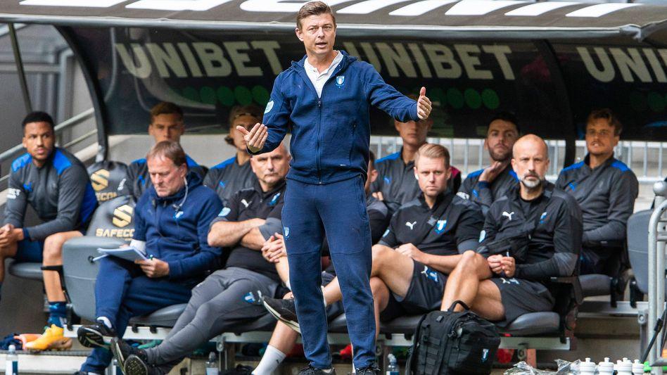 Jon Dahl Tomasson hat das Sagen bei Malmö FF