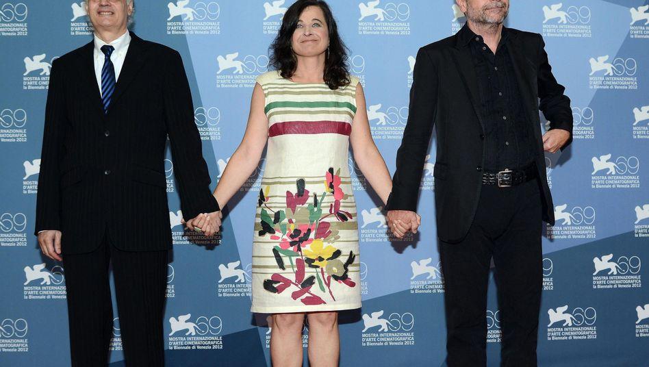 Regisseur Seidl und Schauspielerin Hofstätter in Venedig: Blasphemie?