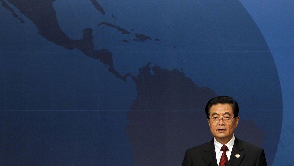"""Chinas Präsident Hu: """"Produkt der Vergangenheit"""""""