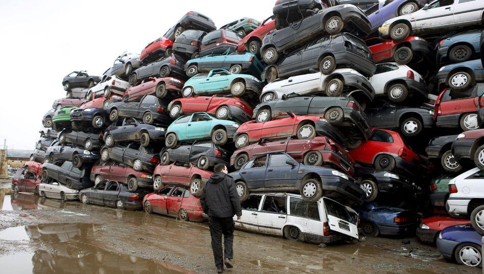 Abgewrackte Autos: Vergangenen Mittwoch war der Fördertopf von fünf Milliarden Euro leer