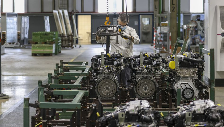 Opel-Motorenproduktion in Kaiserslautern: Der Traditionshersteller steht mit dem Rücken zur Wand