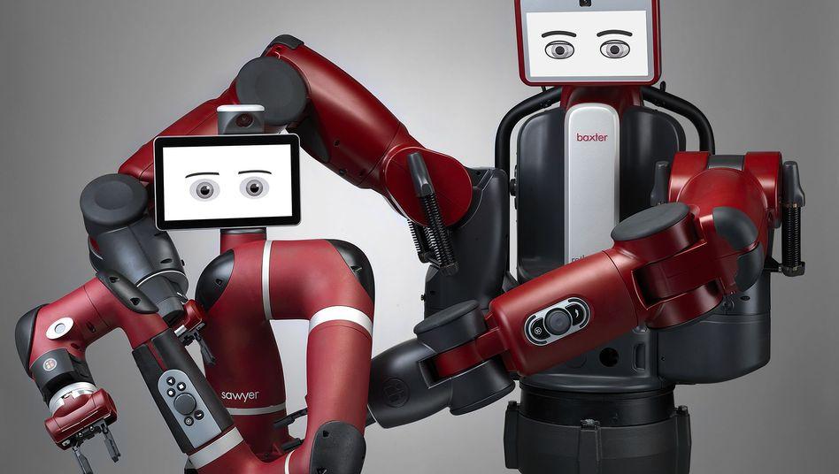 Rethink-Robotics-Modelle: Baxter, Sawyer