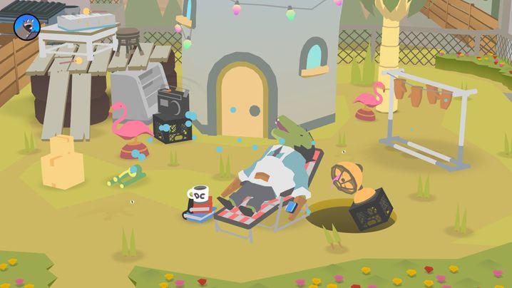 """""""Donut County"""" von Annapurna Interactive für PlayStation 4/Xbox One/Nintendo Switch/PC/iOS, 12 Euro"""