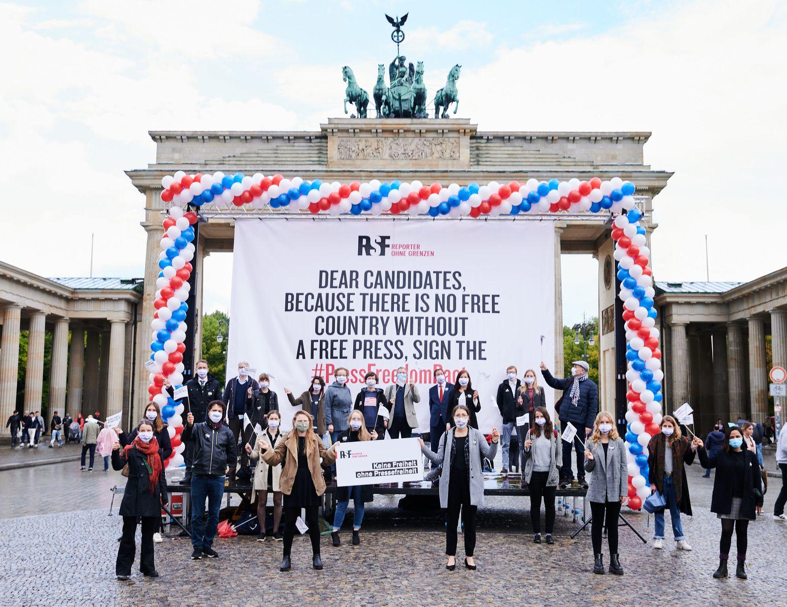 ·Reporter ohne Grenzen· fordern mehr Pressefreiheit in USA