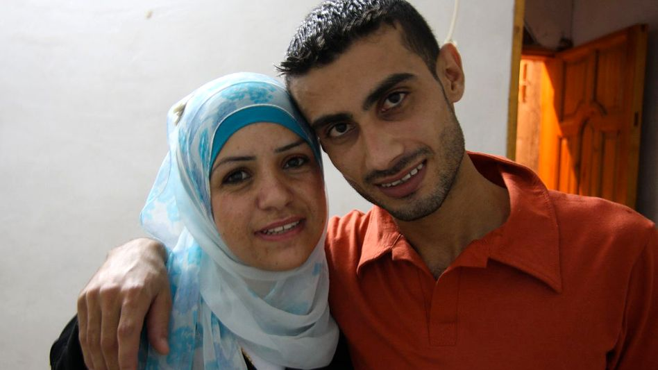 May and Mohammed together in Gaza.