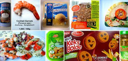 Produkte mit zweifelhaftem Inhalt: Ersatzstoffe statt Originalzutaten