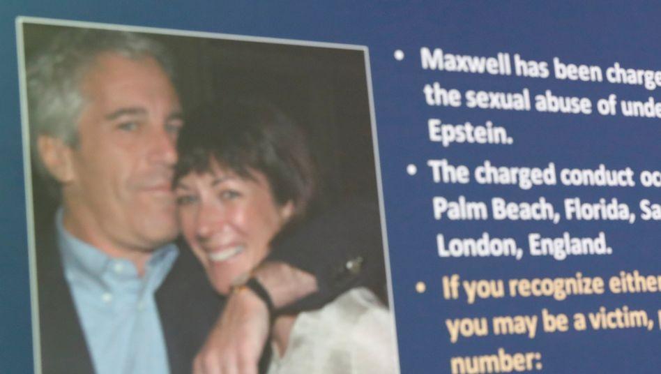 Bei einer Verurteilung drohen Ghislaine Maxwell bis zu 35 Jahre Gefängnis