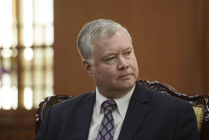 Stephen Biegun - derzeit zuständig für die Verhandlungen mit Nordkorea