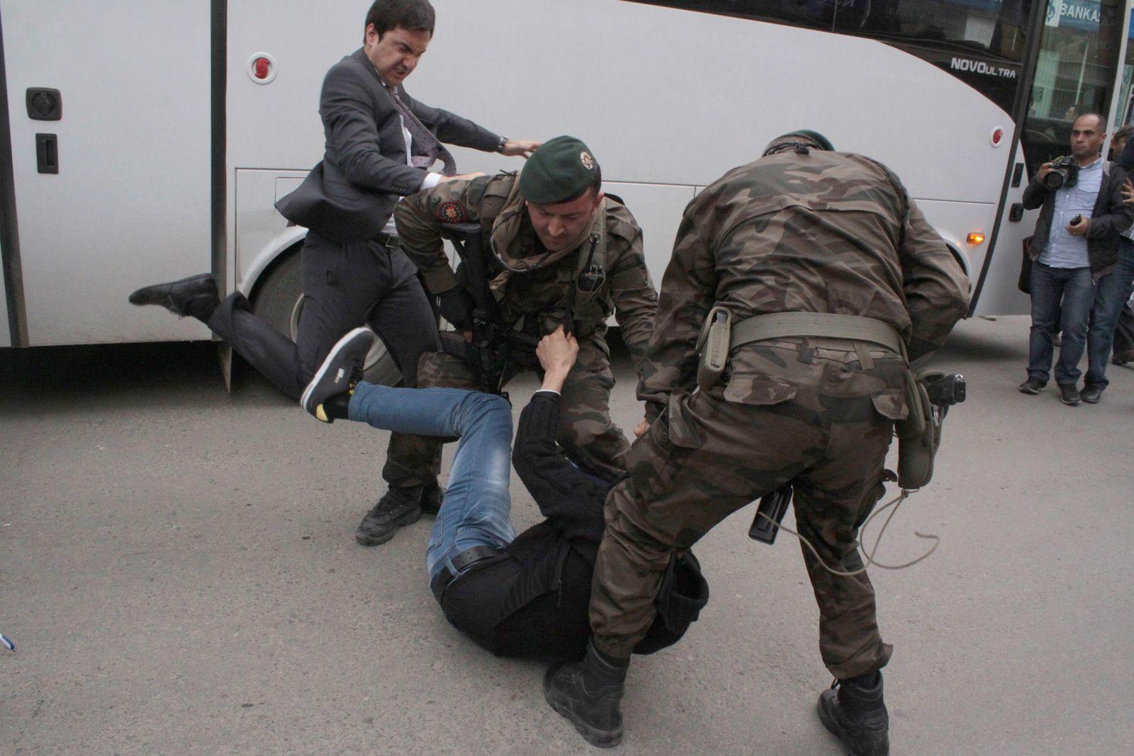 Türkei/ Minenunglück/ Protest/ Yusuf Yerkel