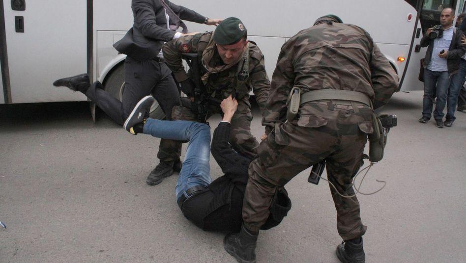 Grubenunglück in Soma: Erdogan-Vertrauter tritt Demonstranten