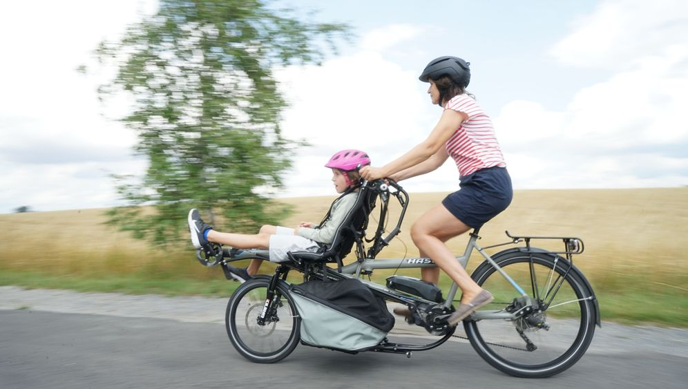 Hase Bikes Pino Steps: Samt Kind und Kisten
