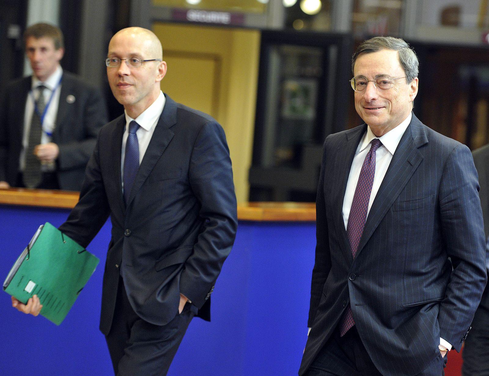 Asmussen / Draghi / Euro Krise