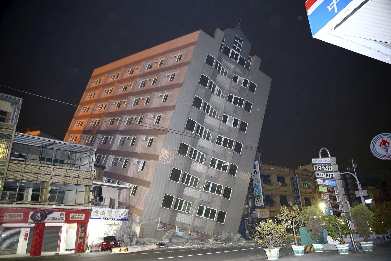 Erdbeben Taiwan