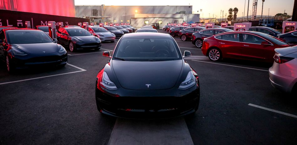 Tesla-Fahrzeuge
