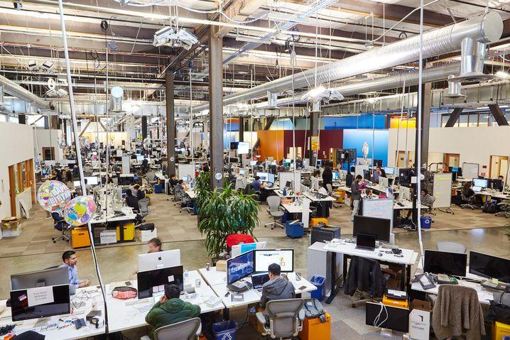 "Facebook-Hauptquartier in Menlo Park, Kalifornien: ""Move fast and break things"""