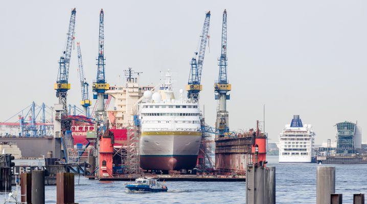 Hamburger Werft Blohm+Voss (Archivbild)
