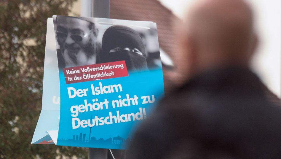 AfD-Plakat zur Bundestagswahl