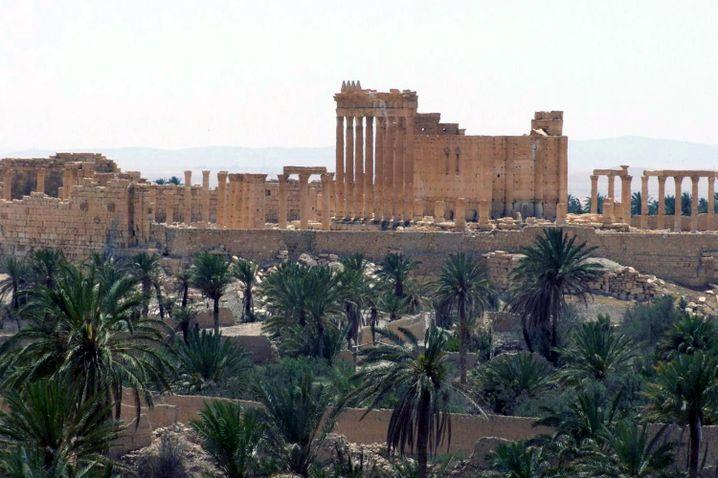 Palmyra: Die syrische Stadt ist jetzt in der Gewalt des IS
