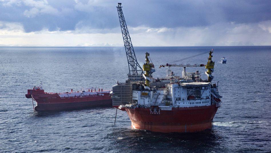 Plattform »Goliat« in der Barentssee: Die Betreiber Eni und Equinor, ehemals Statoil, erschlossen mit ihr 2016 das weltweit nördlichste Ölfeld