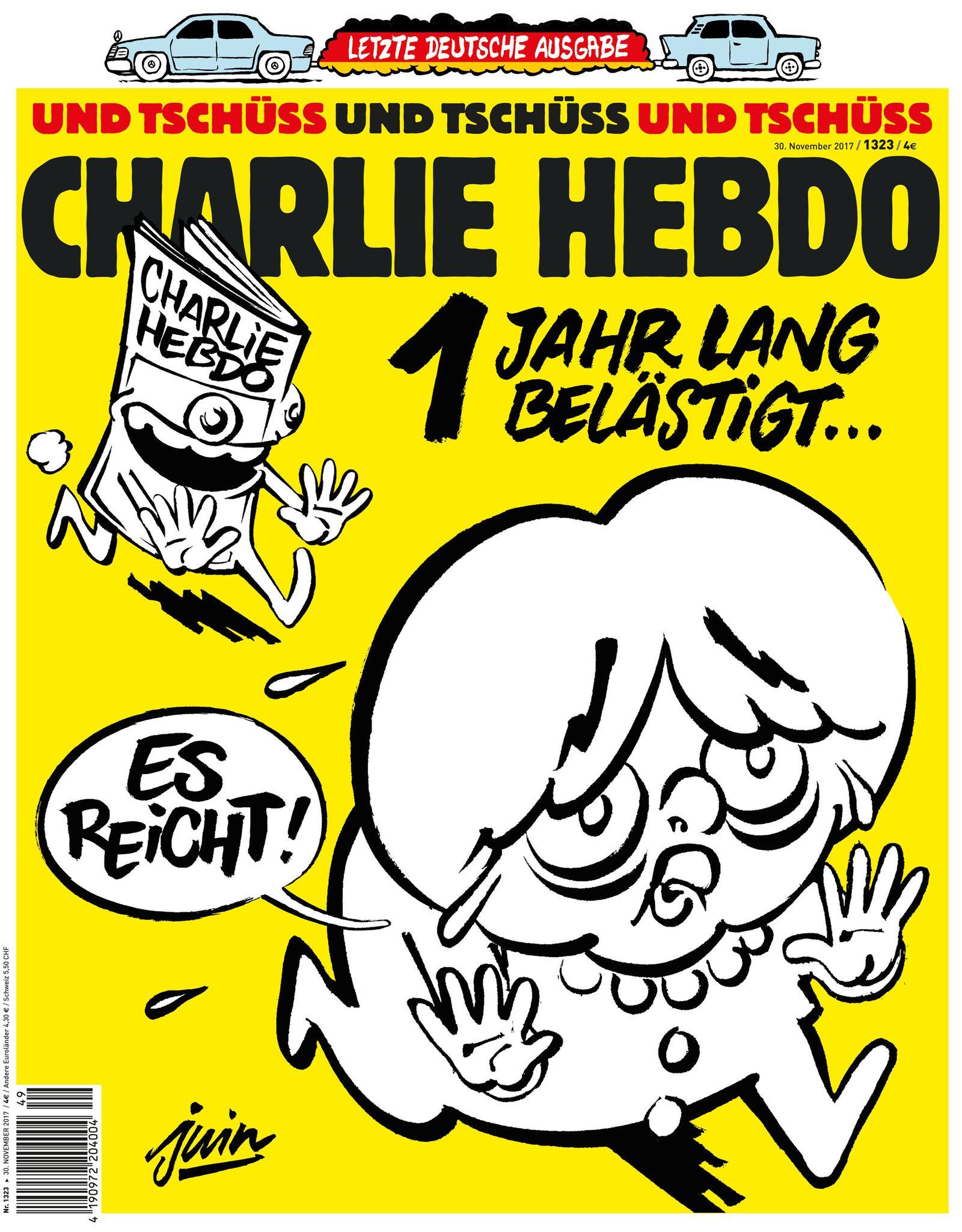 Charlie Hebdo/ Letzte Ausgabe