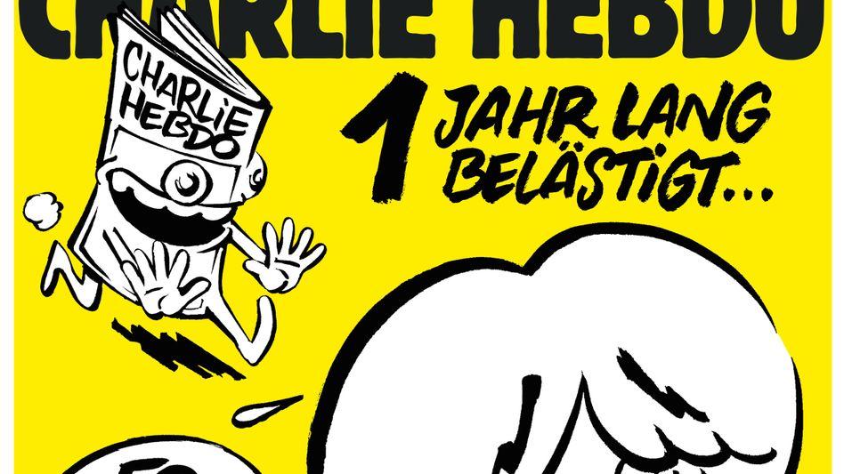"""Cover der letzten deutschen """"Charlie Hebdo""""-Ausgabe"""