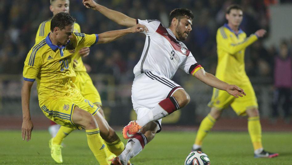 DFB-Nachwuchsspieler Volland: Treffer gegen die Ukraine