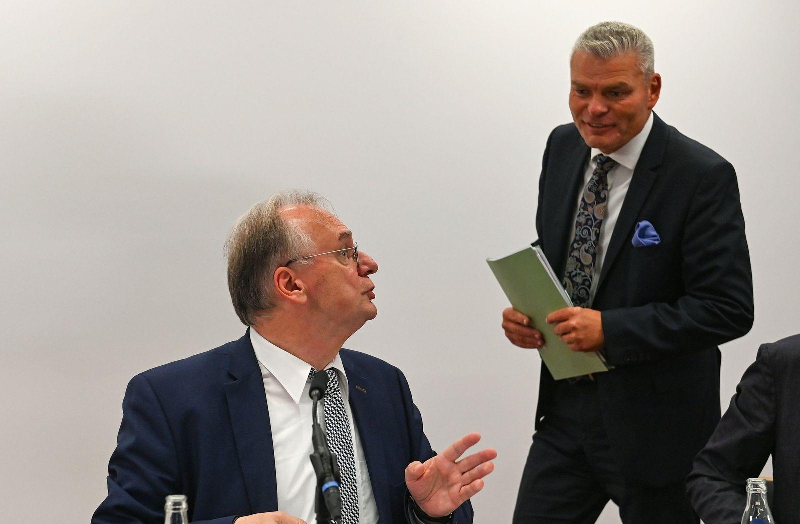 Kabinettssitzung in Sachsen-Anhalt