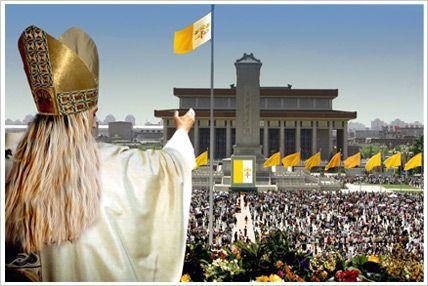 Johanna II. auf dem Tiananmen-Platz: Jubelnde Millionen