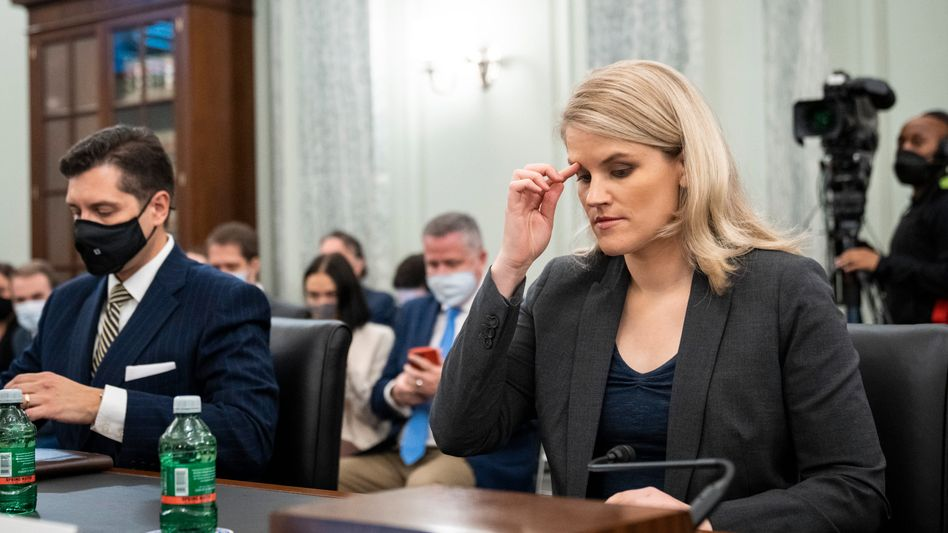 Whistleblowerin Haugen vor dem US-Kongress: Scharfe Kritik am Online-Riesen