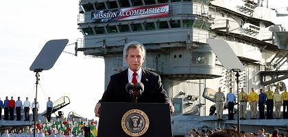 "Mission Unaccomplished: ""The Iraq experience has set back the cause of idealism in American foreign policy and the willingness of Western countries to intervene for humanitarian reasons."""