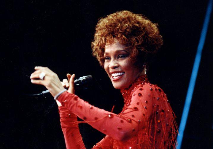 Whitney Houston im Juli 1991