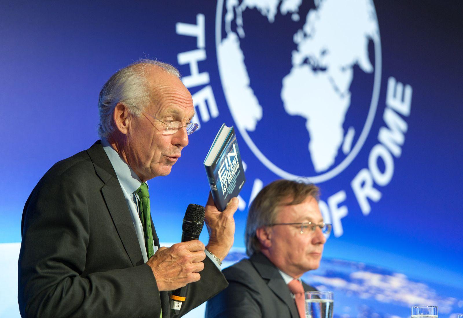 """Neuer Bericht an den Club of Rome """"Ein Prozent ist genug"""""""
